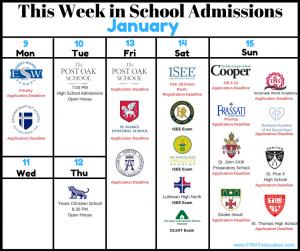 Firat Education Week in School Admissions Jan. 9 - Jan. 15