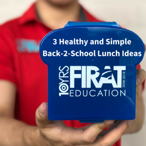 3 Healthy and Simple Back-2-School Lunch Ideas