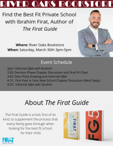 Find the Best Fit Private School with Ibrahim Firat, Author of The Firat Guide