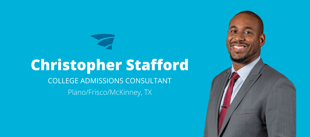 Chris Stafford is a College Admissions Consultant