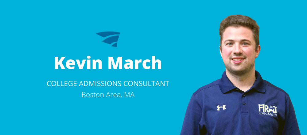 Kevin March is a College Admissions Consultant