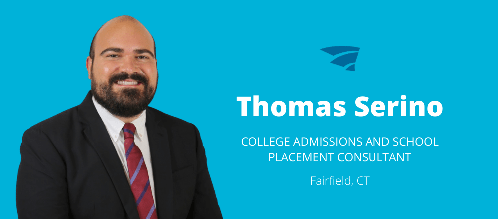 Thomas Serino is a Firat Education College Admissions Consultant