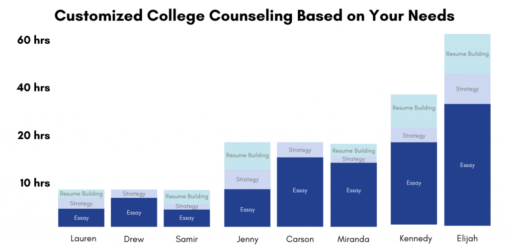 Customize Your College Admissions Consulting